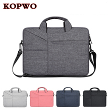 KOPWO Laptop Wool Felt Bag 13.3 14.1 15.4 15.6 Inch Notebook Briefcase for Apple Macbook Dell HP Sony Laptop Messenger Bags