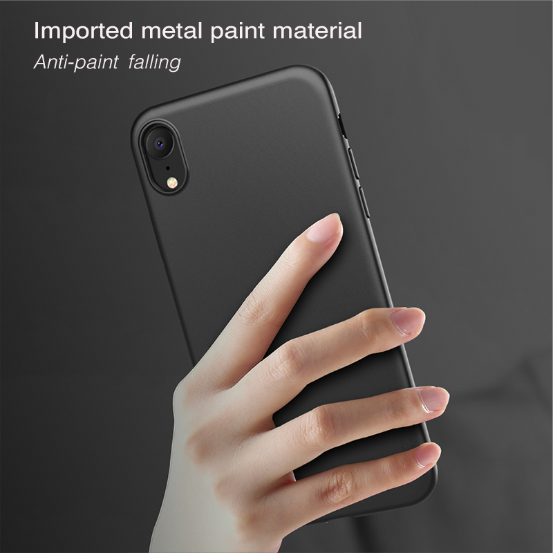 X Level For iPhone X XS XR Case Soft TPU Silicone Original Ultra Thin Soft Touch Protective Back Cover Coque For iPhone XS Max in Fitted Cases from Cellphones Telecommunications