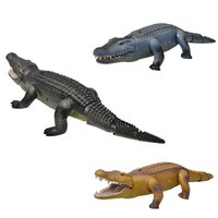 Halloween Real Life Crocodile Remote Control Crocodile Animal Trick Terrifying Mischief Toys For Children Funny Novelty Gifts