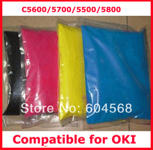 High quality color toner powder compatible for OKI C5600/5700/5500/5800 Free shipping