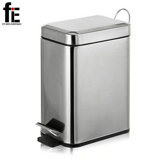 FiE 3/5L Mini Edelstahl müll presse mülleimer kleine küche mülleimer ...
