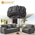 Neoteck съемный растягивающийся диван  чехлы для гостиной  кресло  Двухместный Чехол  серый  для гостиной  Одноцветный секционный чехол для див...