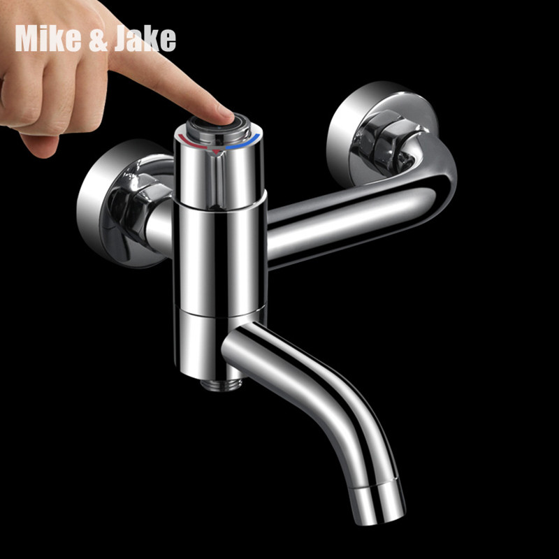 Thermostatic shower mixer press buttonn bathroom shower mixer tap thermostatic bath shower mixer tap bathroom shower faucet