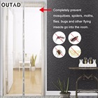 OUTAD Magnetic Anti Mosquito Curtain Tulle Automatic Closing Door Screen Kitchen Curtains Fly Insect Stopping Net Protector