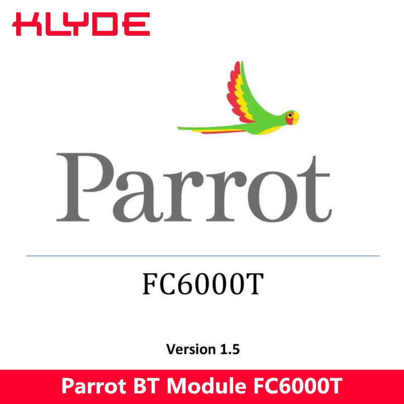KLYDE Built-in Parrot Bluetooth Module FC6000T Only Sell Together With My Car DVD Player Radio Together Support Voice Dialing my voice