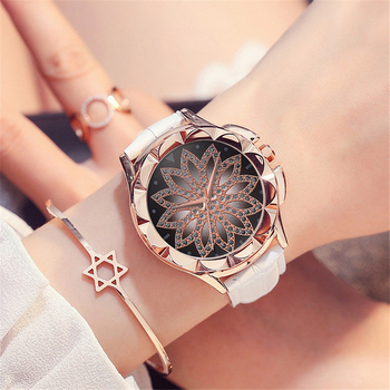 2019 Fashion Quartz Watch Women Watches Casual Ladies Girls Rhinestone Wrist Watch Female Clock Montre Femme Relogio Feminino