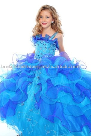 ball gown newest style pageant girl\'s gown dress-in Flower Girl ...