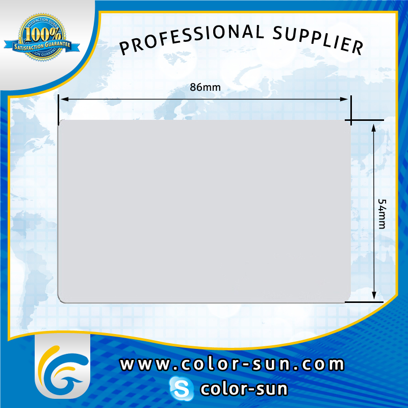 Inkjet PVC card printable pvc business cards for Epson printer ...
