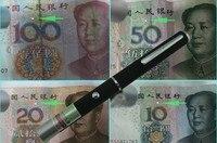 980nm 100 МВт ИК-Красный Инфра ИК лазерная указка ручка для обнаружения Бумага деньги правда или ложь