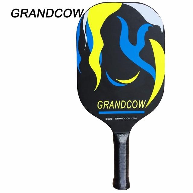 GRANDCOW Pickleball Paddle/Padel TERMINATOR 800 ProLite Carbon Fiber Pop Graphite Grip Edgeless Guard Pickleball Paddle