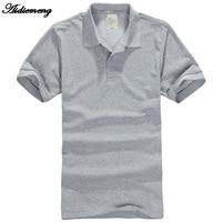 Aidiemeng T Shirt Men 2017 Fashion Mens Shirts For Men Cotton Casual Solid Short Sleeve Shirt