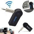 2016 Handfree Bluetooth Автомобиля Музыкальный Приемник Универсальный 3.5 мм Потоковое A2DP Беспроводной Авто AUX Аудио Адаптер С Микрофоном Для Телефона MP3