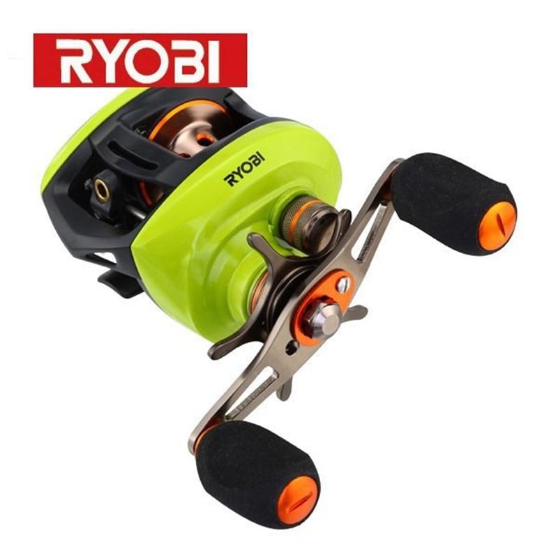 Free Shipping !!!Round bait casting reel AQUILA(z) left/right fishing reel RYOBI Gear Ratio6.3:1/8+1BB moulinet peche pesca