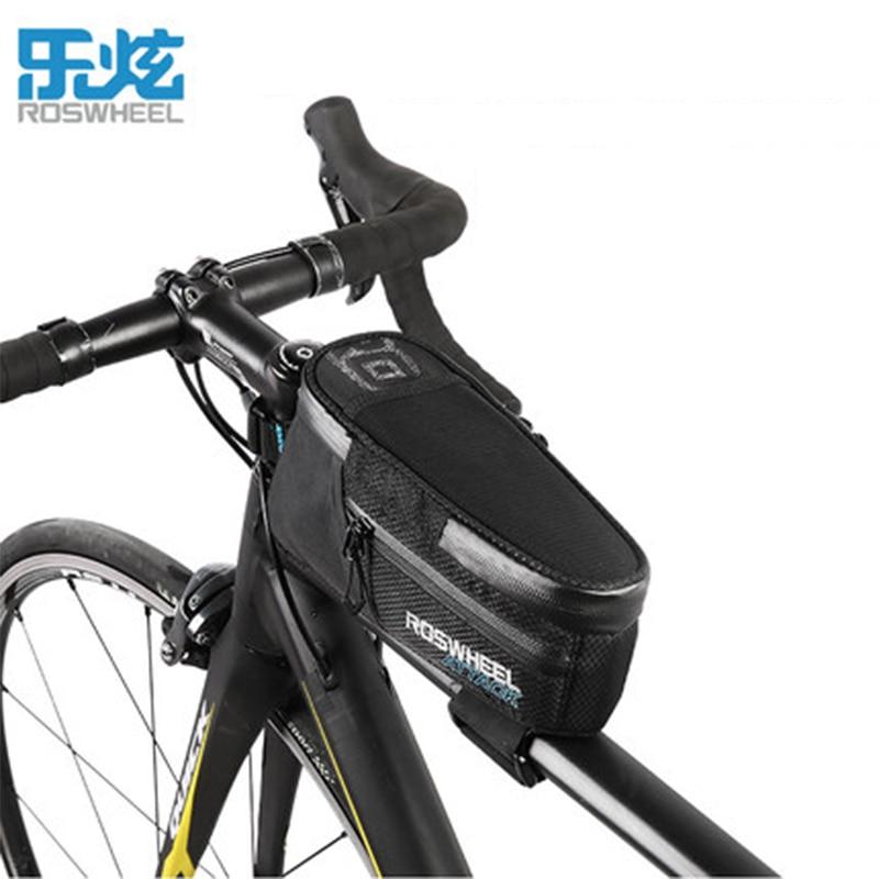 Roswheel Mountain bike bag front beam bicycle accessories riding equipment waterproof tube