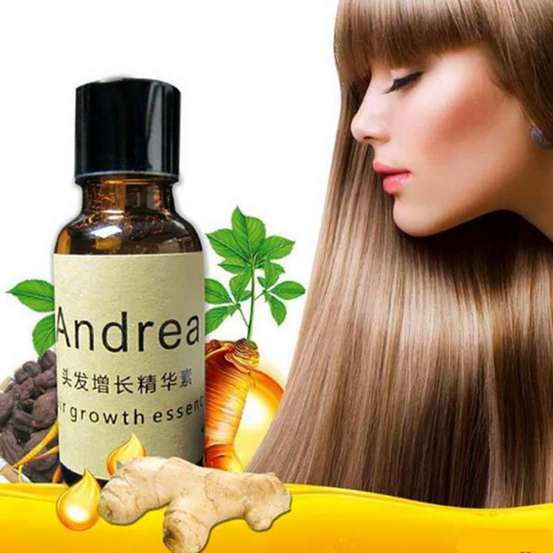 1 Piece Andrea Hair Growth Essence Anti Hair Loss Dense Hair Care 20ml Liquid for Women Men