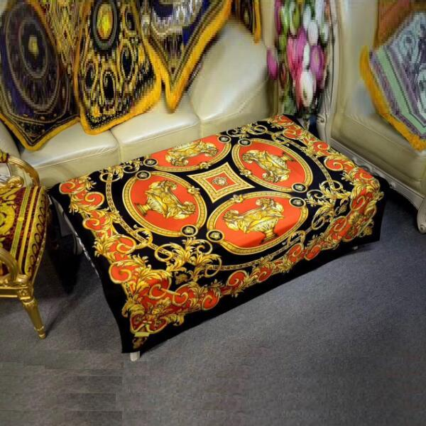 2017 New European Luxury Design Square Table Cloth HD Printed Gloden Table  Covers Home Decorative Table Slipcovers Coffee Tablec In Tablecloths From  Home ...