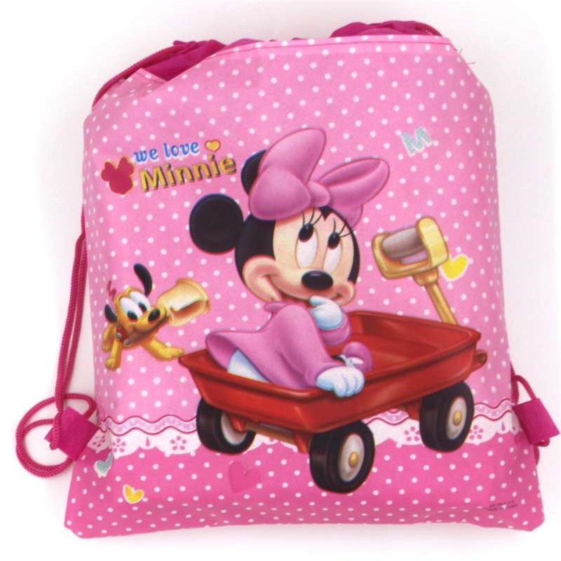 Pokemon go children baby Nonwovens drawstring bag school bags backpack