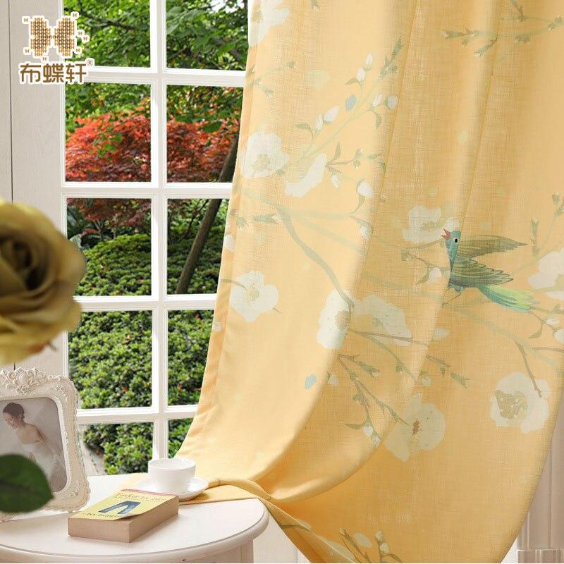 Originální design Digitální tištěný pták Čínský styl - Bytový textil
