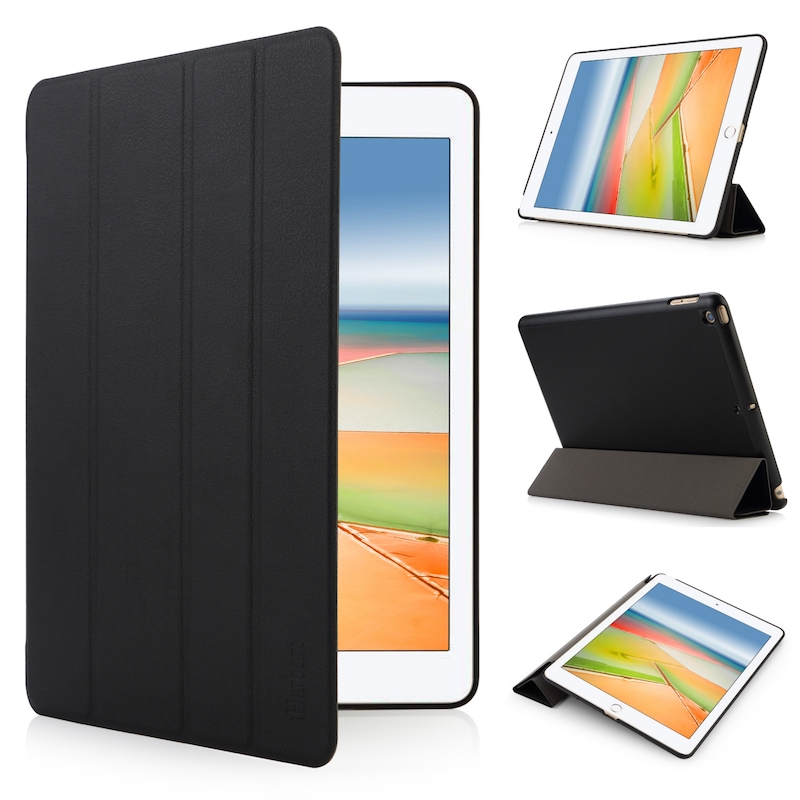 Case for iPad 9.7 2017, iHarbort Magnetic PU Leather Case smart Cover For Apple iPad 2017 9.7 Inch 3 folder holder Stand a4 leather discolor manager file folder restaurant menu cover custom portfolio folders office portable pu document report cover