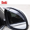 Car Styling Rain brow Rearview Mirror Sticker For Skoda Octavia 2 A7 A5 Rapid Fabia Superb Yeti Volkswagen VW Polo Accessories