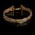 Clássico de Alta Qualidade Três Cores Colar Gargantilha Pulseira Brincos Conjunto Jewlry Marca Itália Real Rose Banhado A Ouro Cadeia De Tricô