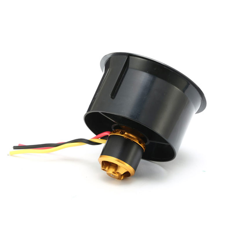 QX-Motor Electric Ducted Fan 2611 4500KV Brushless Motor 64MM EDF 5 Blades Unit 40A esc for RC Airplane Model Accessories Parts image