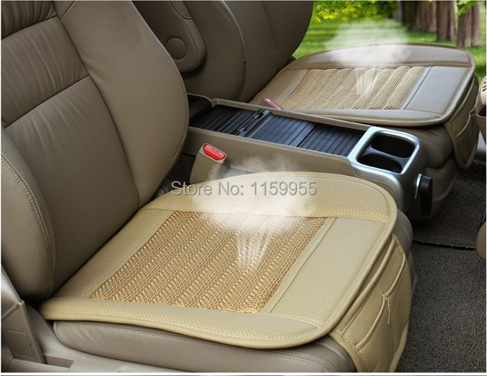 Car Seat Cushion Cover Set Spring Cool Breathable Mesh Comfortable Fox GLK260 Q5 Q7 A4 A6 Cushions