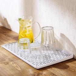 Double Layer Water Drying Dishes Tray Drainer Kitchen Vegetable Fruit Draining Basket Storage Multifunctional