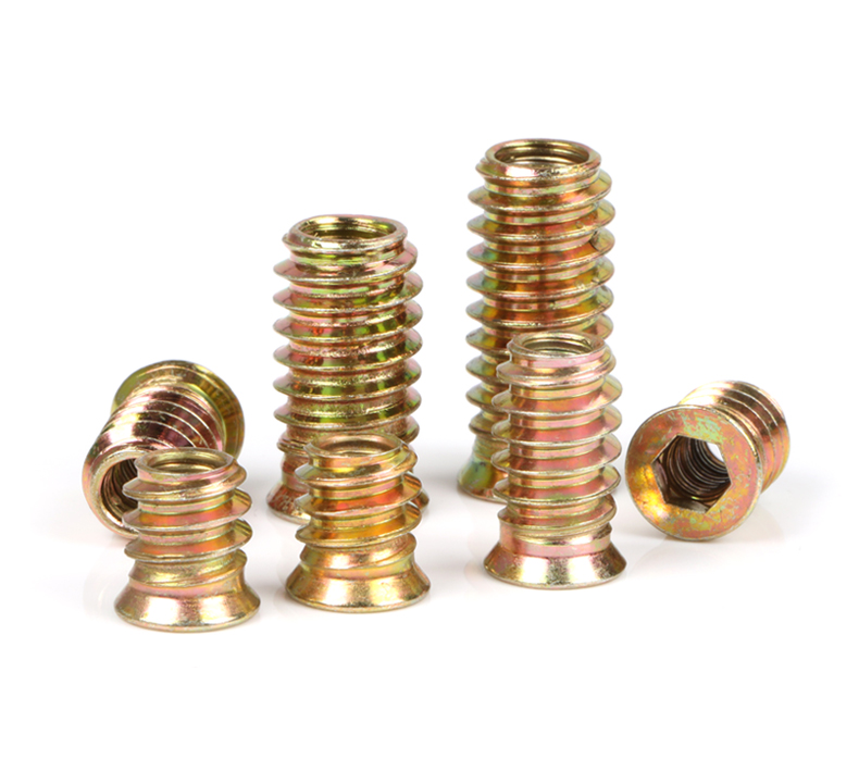 10PCS/lot Top Quality M4 M5 M6 M8 M10 Threaded Insert Nut Furniture