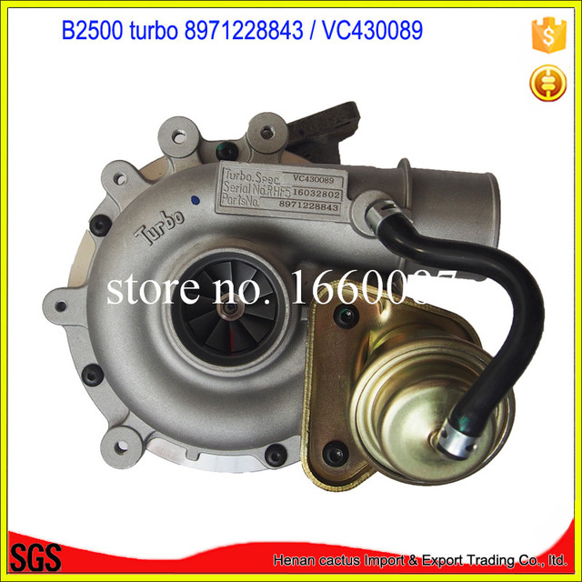 Electric Supercharger Car: Turbocharger WL84 Turbo Charger VC430089 8971228843 Auto