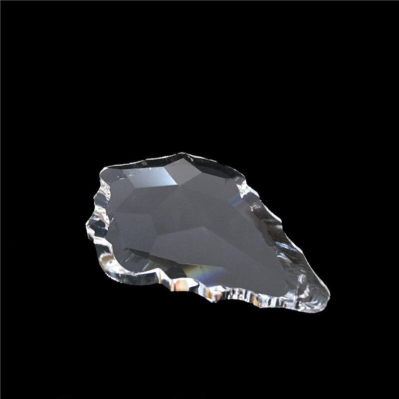 10tk / partii 63mm kristall vaherleht lühtrid ripatsid / kristall - Pühad ja peod - Foto 3