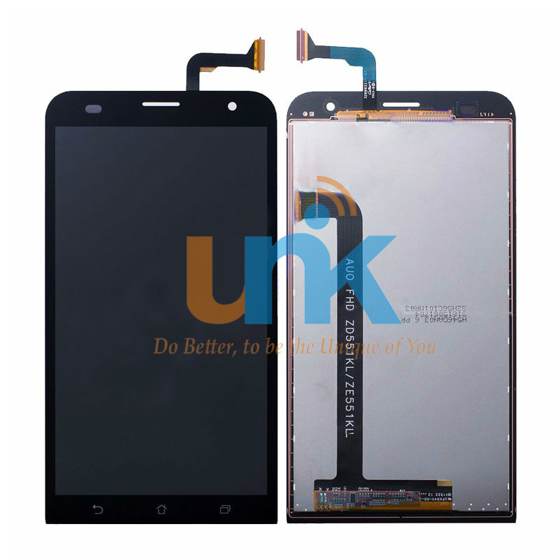 LCD Display For ASUS Zenfone 2 Laser ZE551KL LCD Display with Touch Screen Digitizer Assembly,DHL Free Shipping