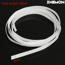 Белый плоттер XNEMON 5 мм, лента для резки лезвий для Roland, виниловая резка для всех 5 мм, режущий плоттер для бусин 140 см 1,4 м 1400 мм