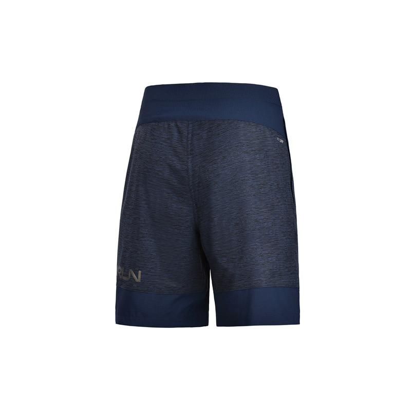 Li-Ning Men Breathable Running Shorts Comfortable Polyester Short Trousers Zipper Pocket LiNing AT DRY Gym Sports Shorts AKSM255