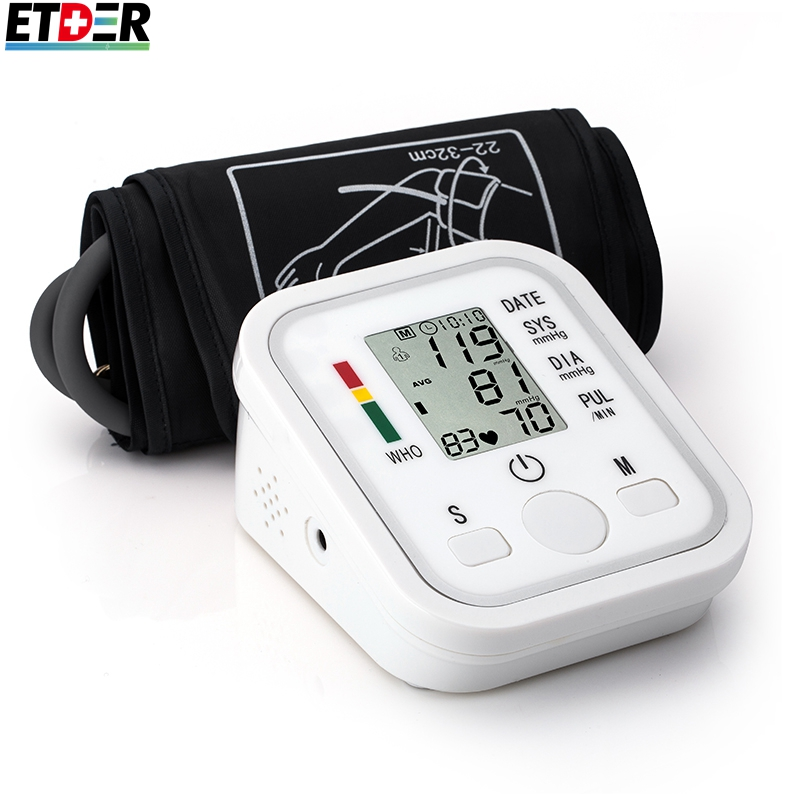Digital Upper Arm Blood Pressure Pulse Monitors tonometer Portable font b health b font font b