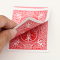 Retail Magic Card  Bicycle Card Red Face Red Back Gaff  1pcs Free Shipping