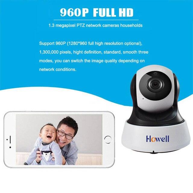 Howell Surveillance Camera HD 1080P IP Home Security Camera CCTV Wifi Mini Camera Baby Monitor Fake Camera IP Cam Two ways Audio