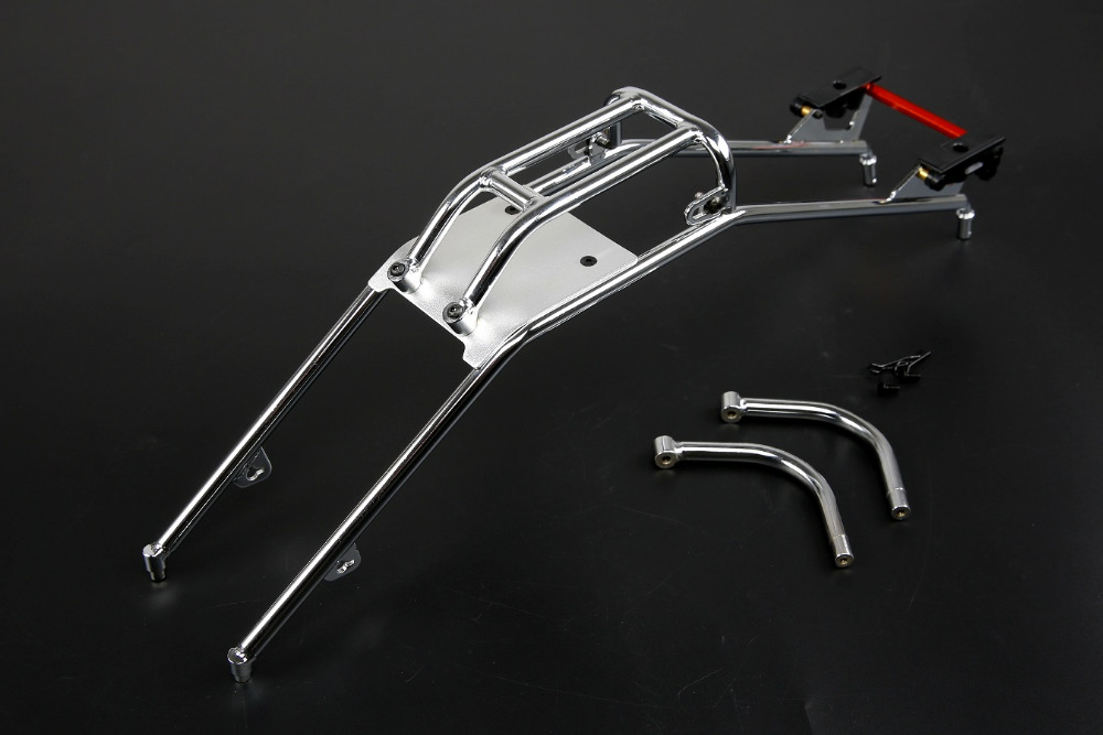 Alloy roll cage & roof guard handle & Rear bend for 1/5 hpi baja 5b ss parts rovan baja alloy roll cage in black 95003