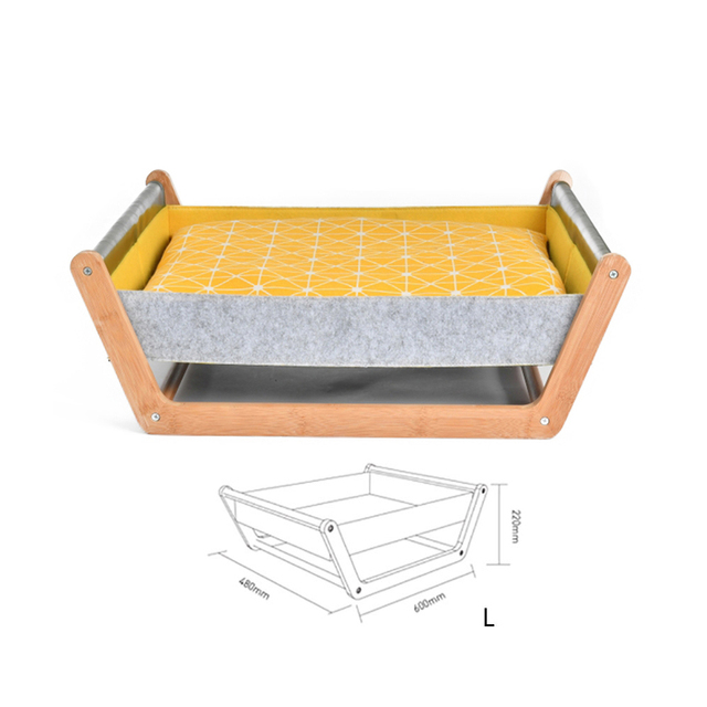 Hammock Wooden Pet Bed