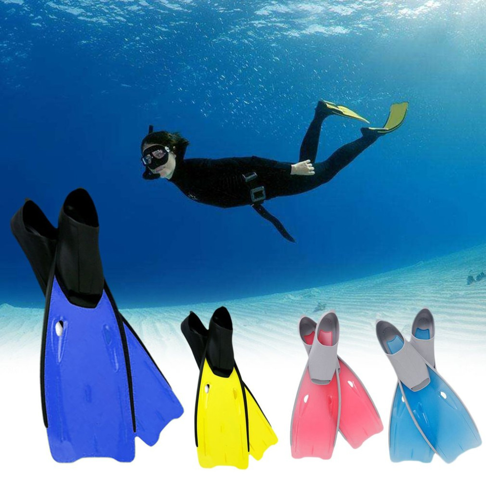 Long Fins Snorkeling Equipment Swimming Frog Shoes Full Foot Swimming Snorkeling Flippers Training Diving Equipment for Adult magideal universal full foot short fins scuba diving swim training flippers kid adult swimming fins snorkeling water fin 6 sizes