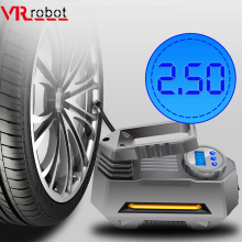Wireless DC 12V Car Portable Air Compressor Pump 150 PSI Digital Auto Emergency Electric Tire Pump Inflator with LED Light portable tire inflator pump 12v 150 psi auto digital electric emergency air compressor pump for car truck suv basketballs