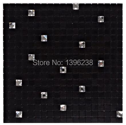Black Self adhesive Diamond Aluminum Pattern Mosaic Tile,Showroom KTV Display Bar Wall Decor Metal Tile Backsplash,LSLCB08 карабин black diamond black diamond rocklock twistlock