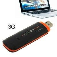 1pcs Hot Worldwide Wireless USB2 0 3G HSDPA For EDGE 7 2Mbps Network Modem Adapter TF