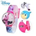 100% Genuine Disney Fashion Brand watch Inside Out cartoon Watch Boys Girls Kid digital Watch relogio 89005-13
