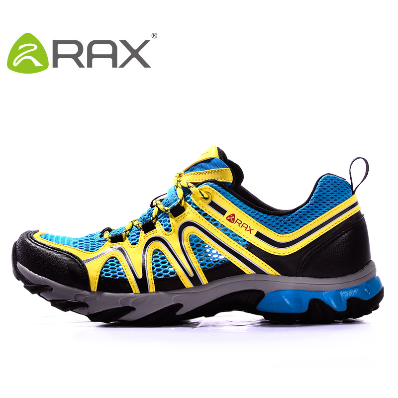 RAX Shoes Men Breathable Outdoor Men's Hiking Shoes Men Outdoor Trekking Climbing Mountaineering Shoes Men Shoes Lightweight rax men breathable hiking shoes mens outdoor sneakers trekking walking aqua shoes lightweight sport shoes mountaineering boots