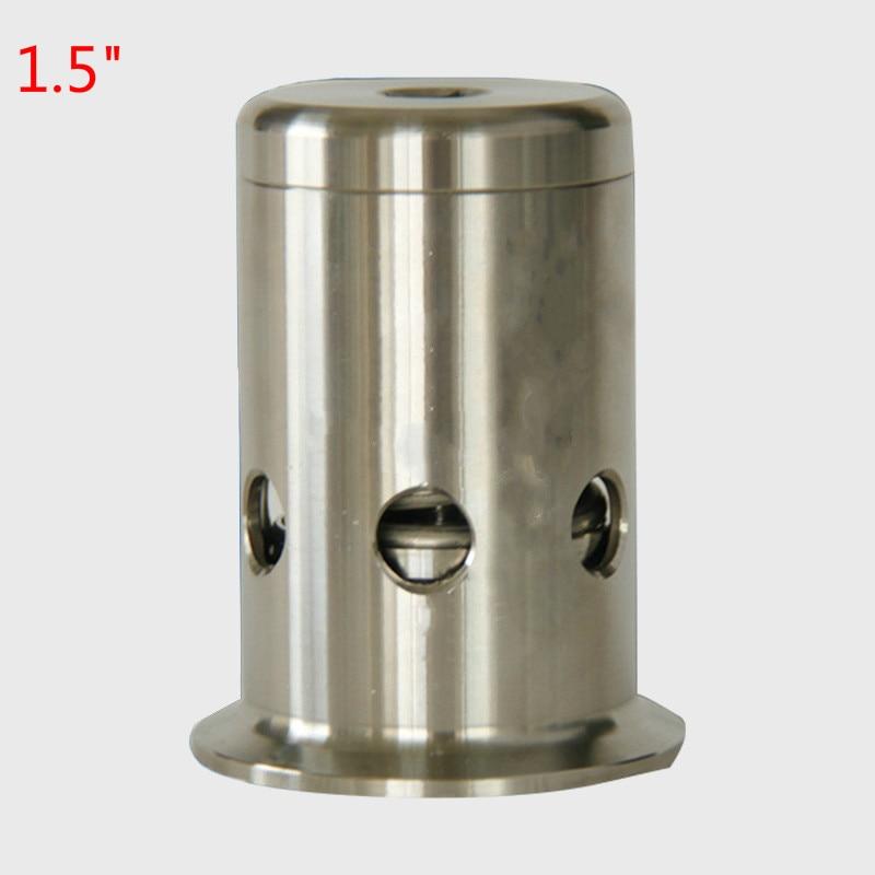 1.5 Tri Clamp Pressure Safety Valve/ Vacuum Breaker 0.5 /1.0/ 1.5 /2 / 2.2 / 3 bar Stainless steel 304 Chuck 50.5mm bellofram t77 vacuum regulator 960 500 000 2psi vacuum low pressure valve