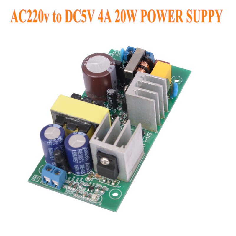 New 220V TO <font><b>5V</b></font> 4A 20W Supply Module <font><b>AC</b></font>-<font><b>DC</b></font> <font><b>220</b></font> to <font><b>5V</b></font> Small Volume Isolated Switching Power GPN30E5V X4411 image