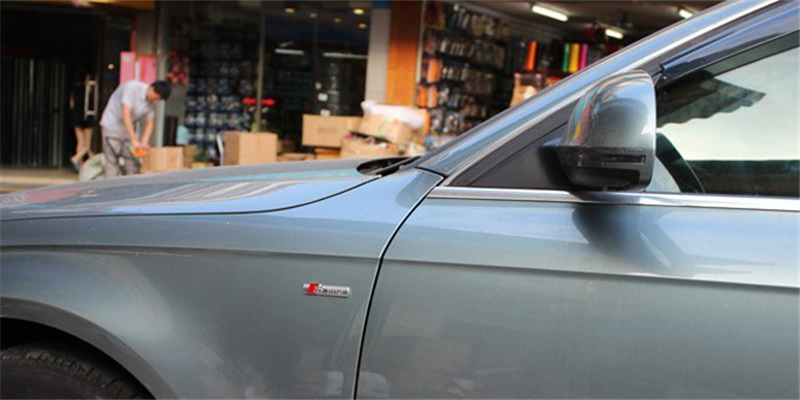 Free shipping when buy 3D Metal Car S-line Sticker at stkcar.com accessories