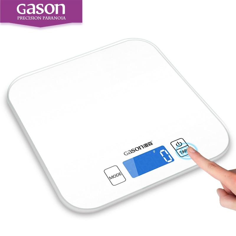 GASON C1 Balança de precisão digital de cozinha (15KG /1G)