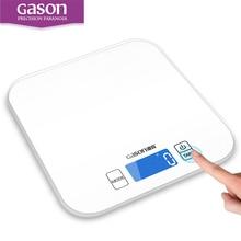 GASON C1 15 kg/1g Küchenwaage Elektronische Präzision Mini Messen Werkzeuge Gleichgewicht Digital Gramm Kochen Glas LCD Display
